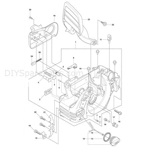 husqvarna chainsaw parts diagram husqvarna 435 chainsaw 2011 parts diagram crank