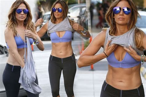 watch jennifer lopez show us how to get her perfectly