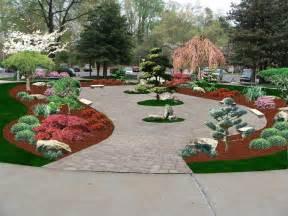 Ideas Japanese Landscape Design Japanese Garden Quot Computer Design Quot S Landscape