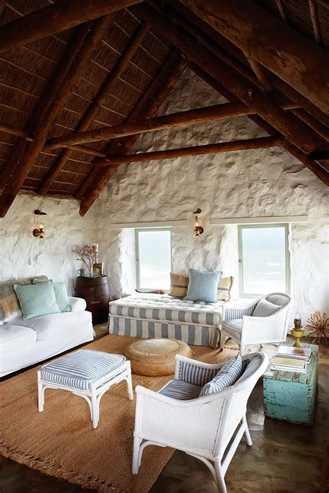 Coastal Dining Room Ideas by Simple But Perfectly Stylish Stone Cottage Decoholic