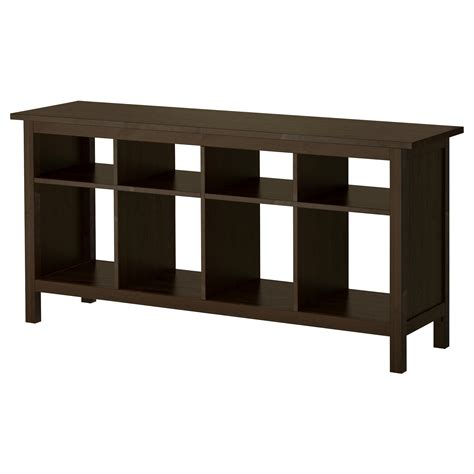 hemnes sofa table white hemnes console table black brown 157x40 cm ikea