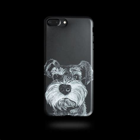 Ks Cheetah Iphone 6 6s 6plus 6splus 7 7plus phone schnauzer black animal iphone 6 6s 6plus 6s plus 7 7plus cases covers