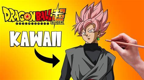 imagenes kawaii de goku como dibujar a goku black kawaii dragon ball super