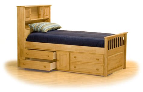 captain bed with underbed drawers hardwood captain s bookcase bed with 4 drawer underbed chest
