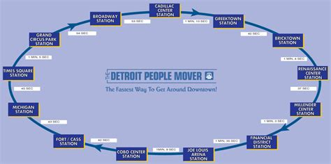 detroit people mover map people mover map laminatoff
