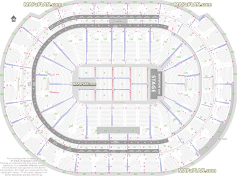 bb t center floor plan bb t center detailed seat row numbers end stage concert sections floor plan map with arena