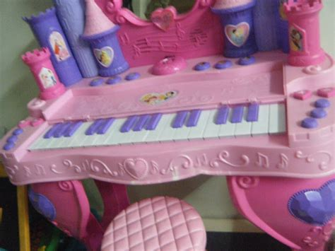 Disney Princess Vanity Piano by Mommyslove4baby143 Disney Pricess Musical Piano Vanity 3