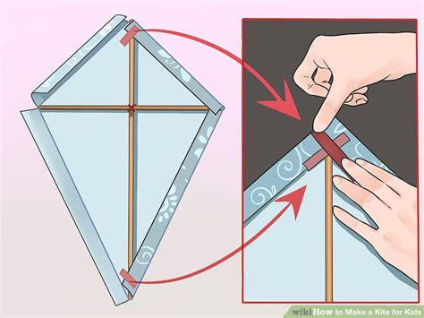 How To Make A Kite Out Of Paper And Straws - how to make a kite for with pictures wikihow
