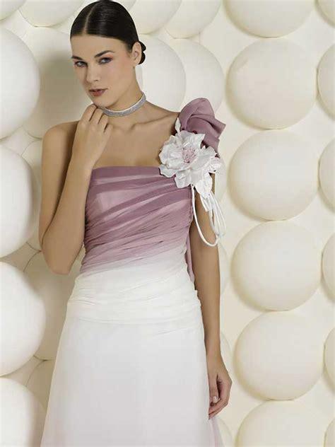 abiti da sposa con fiori colorati abiti da sposa colorati