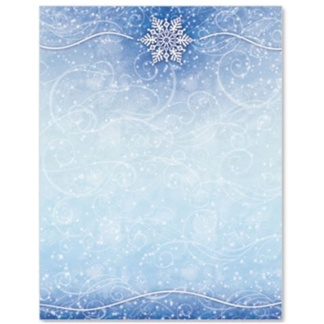 winter border writing paper 5 best images of free printable winter stationery paper