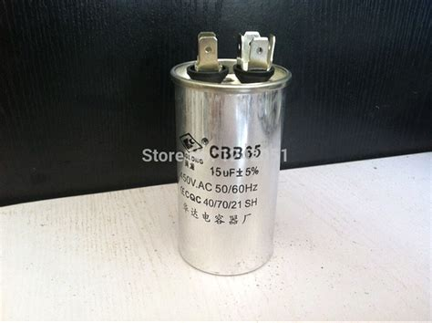 capacitor for air conditioner compressor ac motor capacitor air conditioner compressor start capacitor cbb65 450vac 15uf in inductors