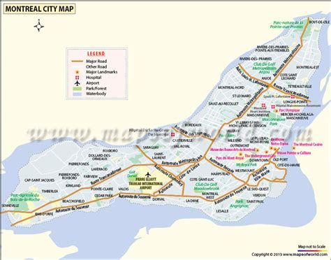 montreal world map image gallery montreal maps