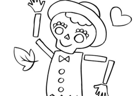 la catrina coloring pages free 16 best images of th worksheets for kindergarten ch sh