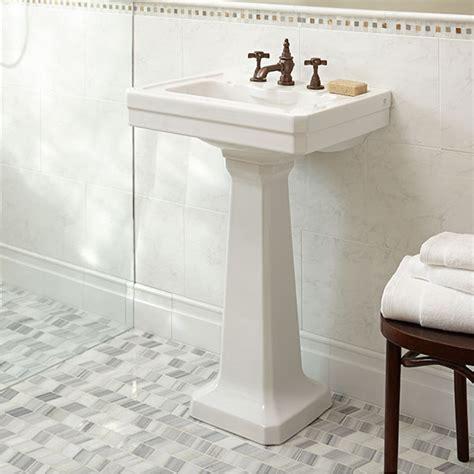 24 inch pedestal sink fitzgerald 24 inch pedestal sink three dxv