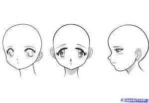 How To Draw Anime Faces Step By Sketch Coloring Page sketch template