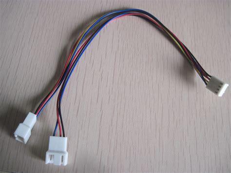 3 pin to 4 pin fan splitter motherboard 4pin female to 3pin 4pin male splitter pc
