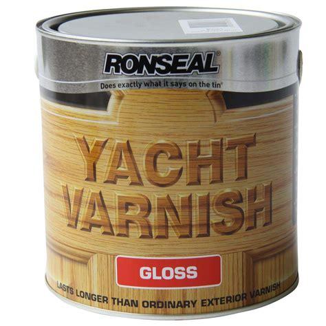 yacht varnish ronseal yacht varnish gloss 500 ml zener diy online