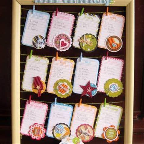 Handmade Birthday Calendar - birthday calendar board tutorial tip junkie