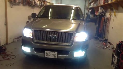 2004 ford f150 fog lights 2004 ford f 150 hid lights headlights fog lights alpine