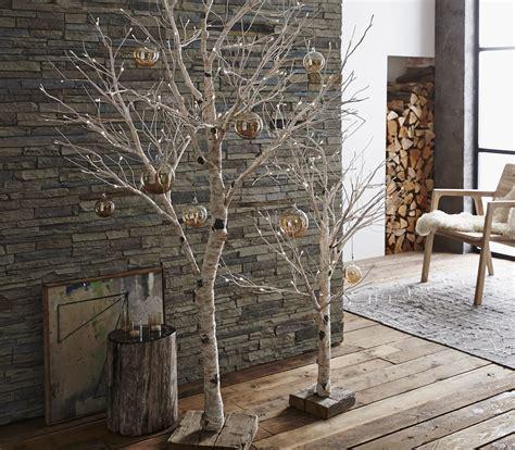 birch tree  decor lighted birch tree holiday decor