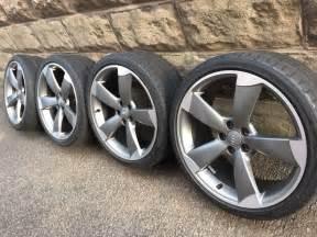 Audi Rotor Wheels 18 4x 18 Quot Genuine Audi Alloy Wheels Oem Rotor 5x100 A1 Ibiza