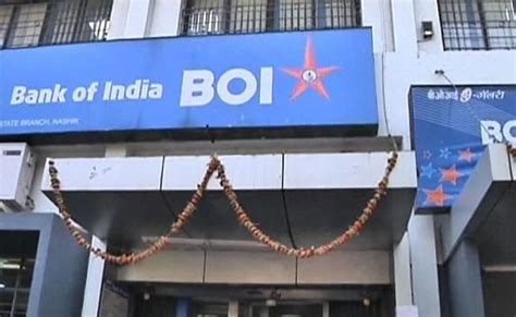 bank of india bank of india shares plunge on rs 1 046 crore loss in q4