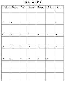 1 Calendar Month From Today Printable Calendar 2018 Printable Monthly Calendar Templates