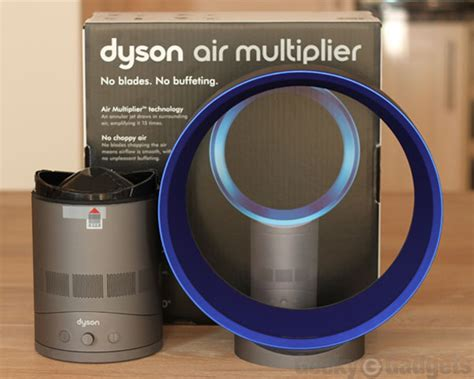 how do bladeless fans work dyson air multiplier