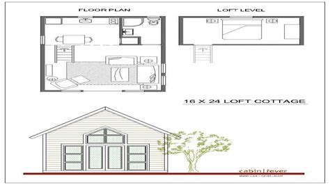 cabin house plans with loft 16x24 cabin plans with loft 16x20 cabin small cabin plans