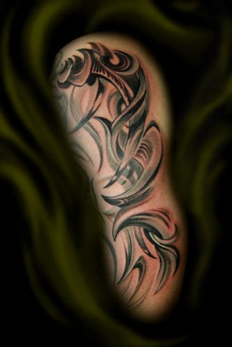 tattoos that go with tribal beautiful arm tattoos ideas pictures