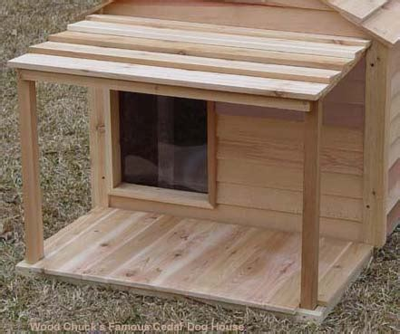 Best Dog Bed For Chewers Godzilla Cedar Dog House