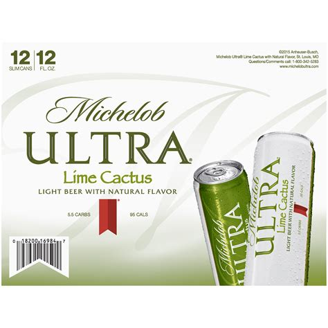 michelob light vs michelob ultra michelob ultra lime cactus nutrition facts dandk