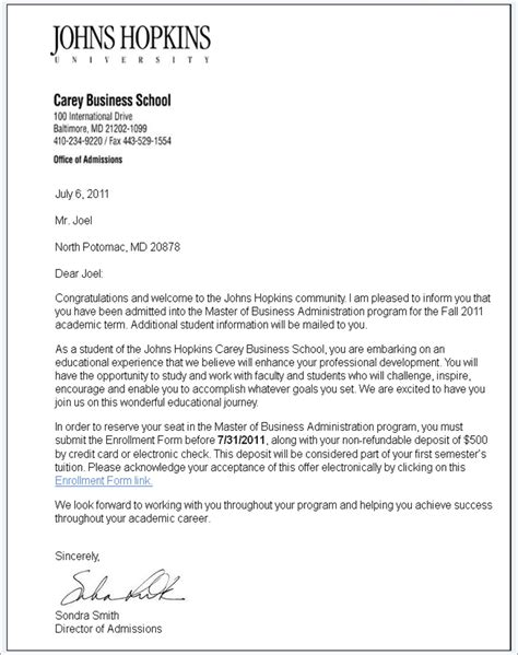 Acceptance Letter For School Just The Facts A Low Stakes Graduate School Acceptance