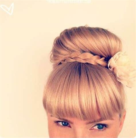 chongo or ponytail c 243 mo hacer un mo 241 o alto con una trenza aquimoda com