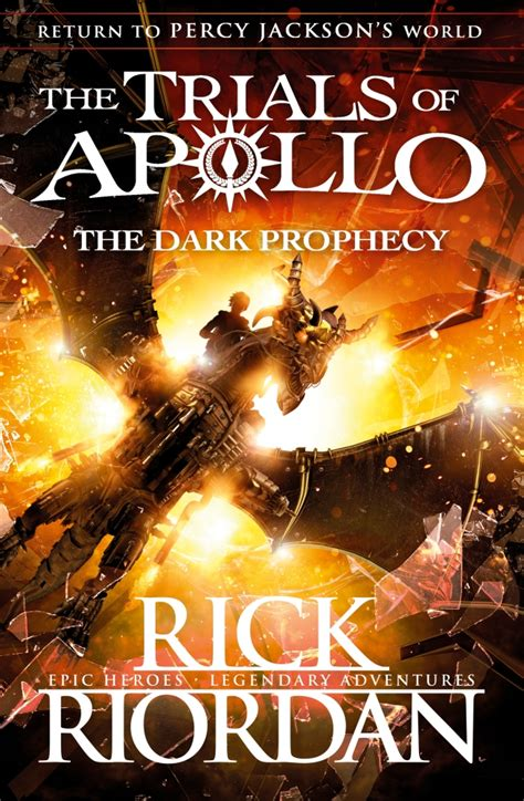 The Trials Of Apollo 2 The Prophecy Rick Riordan the prophecy the trials of apollo book 2 by rick riordan