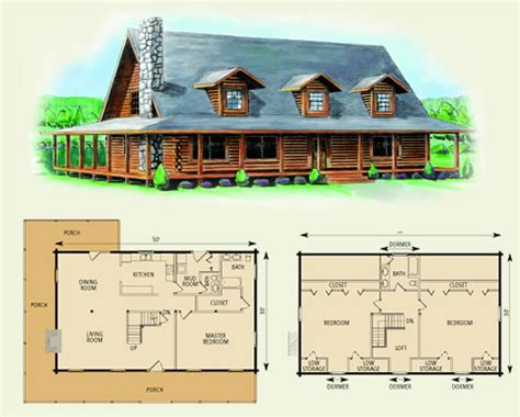 charlottesville log home and log cabin floor plan great