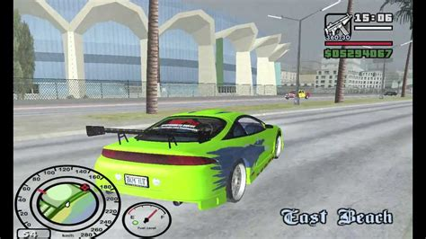brian fast and furious 1 car gta san andreas car mod fast and furious 1 mitsubishi