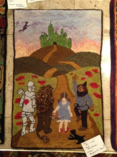 wizard of oz rug 17 best images about rug hooking on hooked rugs cs and
