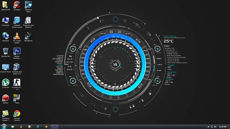 themes for windows 7 rain windows 7 rainmeter by zaktech90 on deviantart