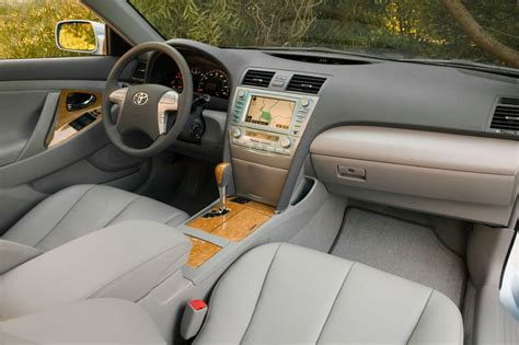 toyota camry xle interior picture pic image