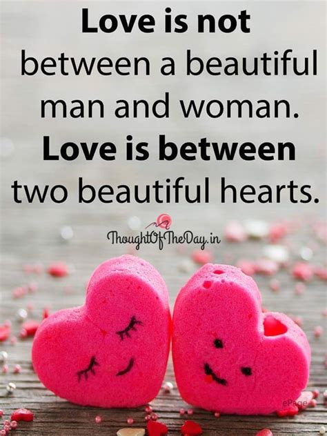 images of love thoughts love is between two beautiful hearts thought of the day
