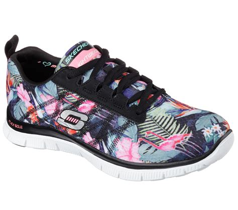 Skechers Flex Appeal buy skechers flex appeal floral bloomtraining shoes