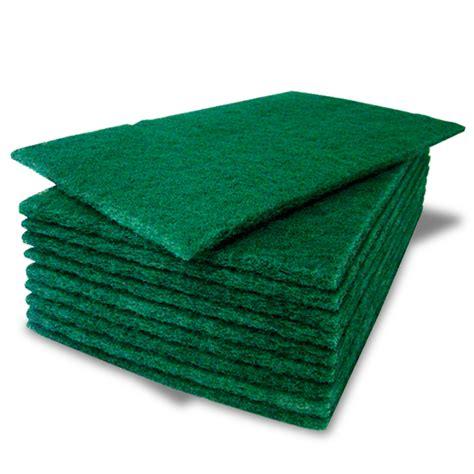 10 pack of heavy duty green catering kitchen sponge