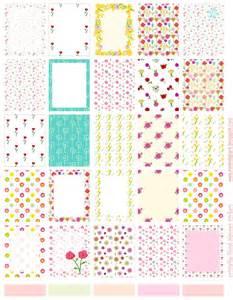 Free printable floral planner stickers ausdruckbare sticker