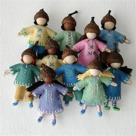 acorn dolls house little waldorf inspired acorn dolls this little doll is