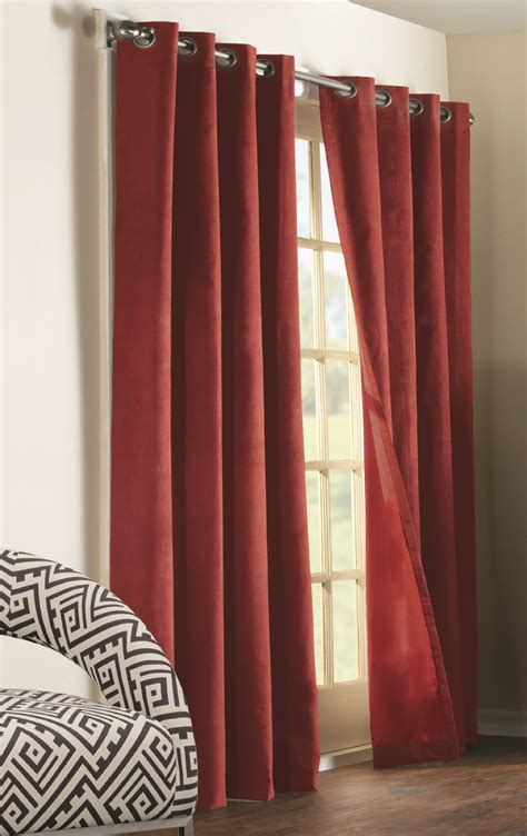 the curtain shop online navar total blackout faux suede grommet panel thermaplus