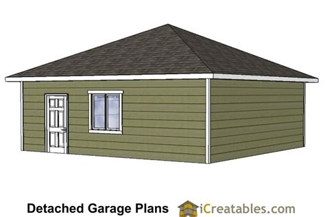 hip roof garage plans 24x24 garage plans with hip roof