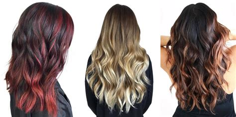 balayage hair color vs ombre how to rock gold hair color this summer matrix