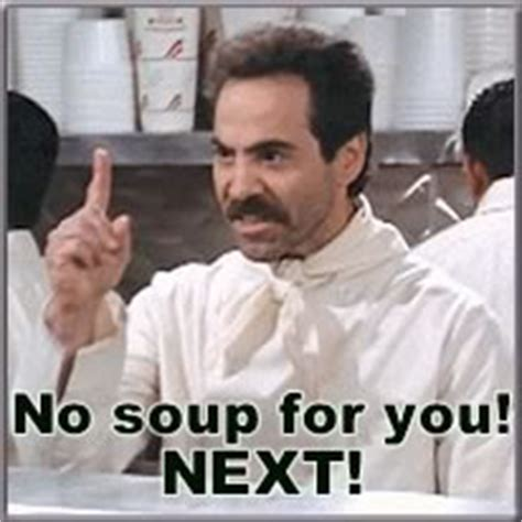 No Soup For You Meme - fanduel vs draftkings strategy differences for football