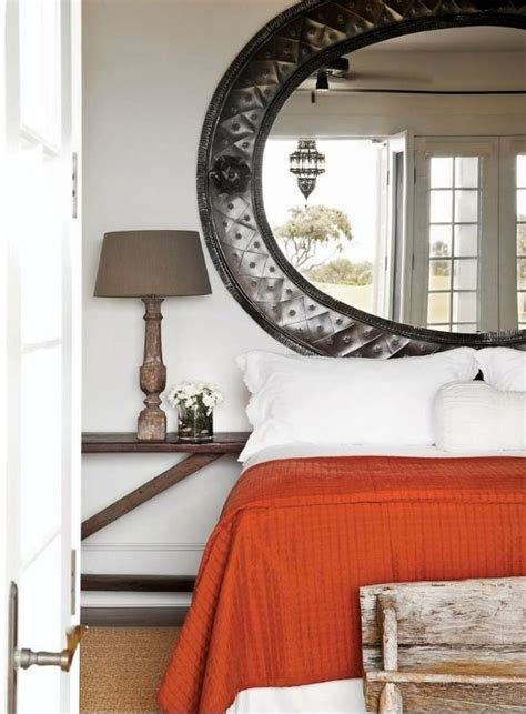 mirror over bed mirror over the bed fabulous guest room pinterest